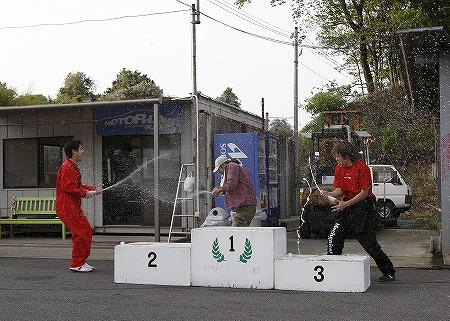 第61回 走行会 2010年5月8日 グリップ初級シャンペンシャワー