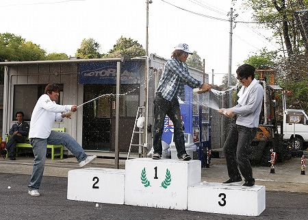 第61回 走行会 2010年5月8日 ドリフト初級シャンペンシャワー