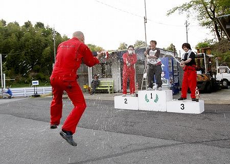 第61回 走行会 2010年5月8日 ドリフト上級シャンペンシャワー
