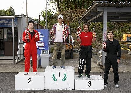第61回 走行会 2010年5月8日 グリップ初級表彰式