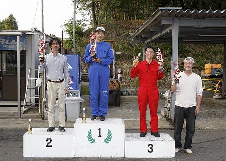 第61回 走行会 2010年5月8日 グリップ上級表彰式