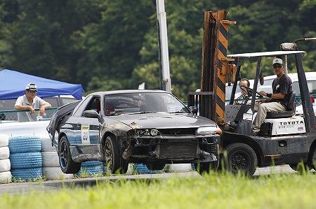 第62回 走行会 2010年7月10日 R32クラッシュ2