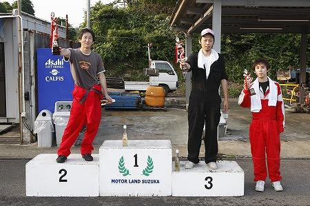 第62回 走行会 2010年7月10日 グリップ上級表彰式