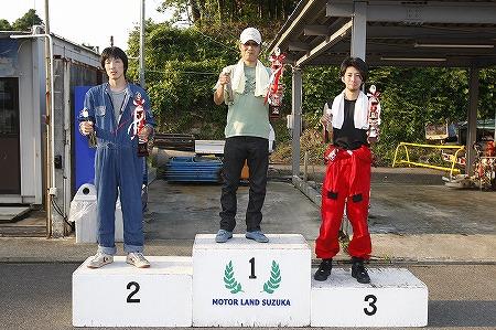 第62回 走行会 2010年7月10日 グリップ初級表彰式