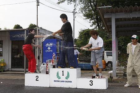 第62回 走行会 2010年7月10日 ドリフト上級シャンペンシャワー