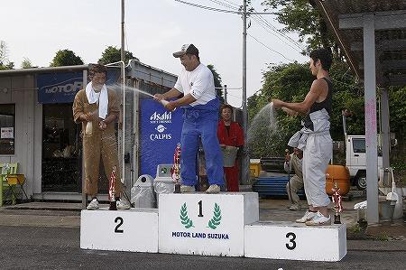 第62回 走行会 2010年7月10日 ドリフト初級シャンペンシャワー