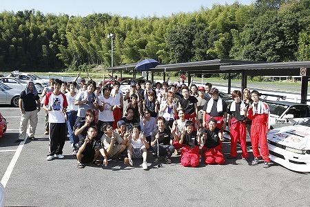 第63回 走行会 2010年9月11日 集合写真