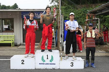 第63回 走行会 2010年9月11日 グリップ上級表彰式