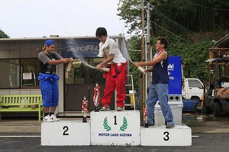 第63回 走行会 2010年9月11日 ドリフト初級シャンペンシャワー
