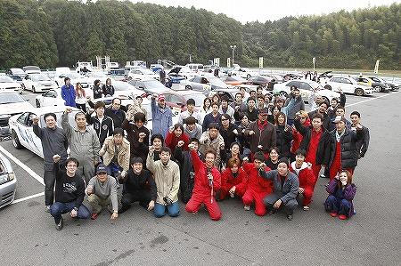 第64回 走行会 2010年11月13日 集合写真