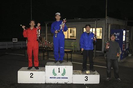 第64回 走行会 2010年11月13日 グリップ上級表彰式