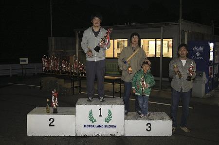 第64回 走行会 2010年11月13日 グリップ初級表彰式