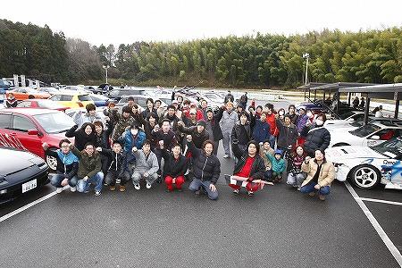 第69回 走行会 2012年3月10日 集合写真