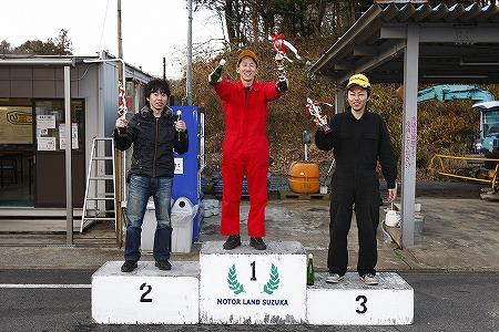第69回 走行会 2012年3月10日 グリップ上級表彰式