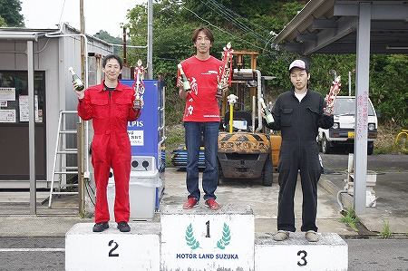 第70回 走行会 2012年6月2日 グリップ上級表彰式