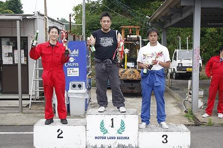 第70回 走行会 2012年6月2日 グリップ初級表彰式