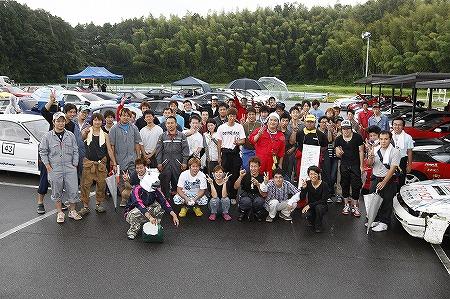 第71回 走行会 2012年9月8日 集合写真