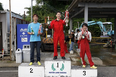 第71回 走行会 2012年9月8日 グリップ上級表彰式
