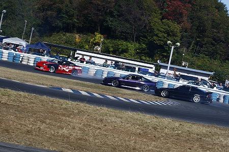 第72回 走行会 2012年11月10日 3連ドリフト5
