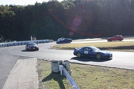 第72回 走行会 2012年11月10日 グリップ走行1