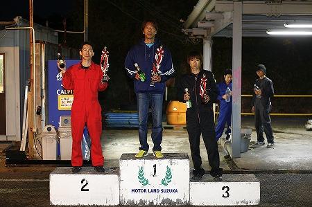 第72回 走行会 2012年11月10日 グリップ上級表彰式
