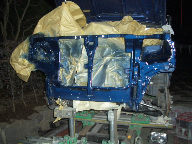 グローバルジグを使用しての自動車修理
