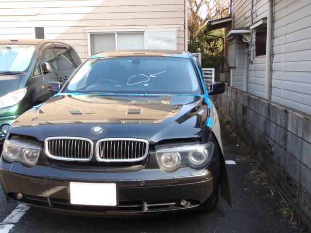 BMW 7シリーズ ガラス交換