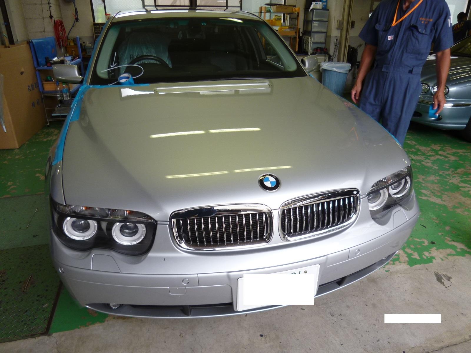 BMW(7)ガラス交換
