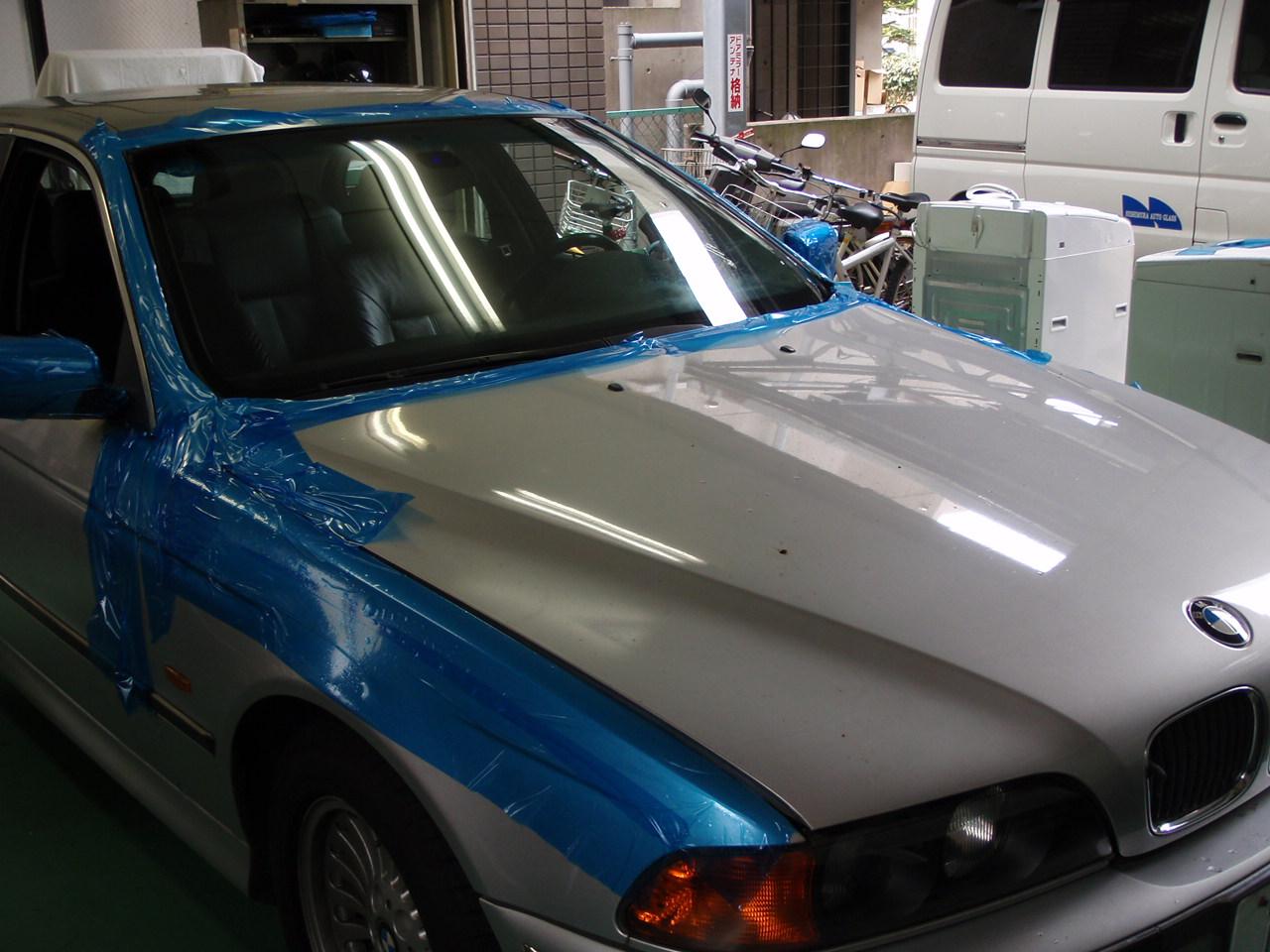 BMWモールの交換