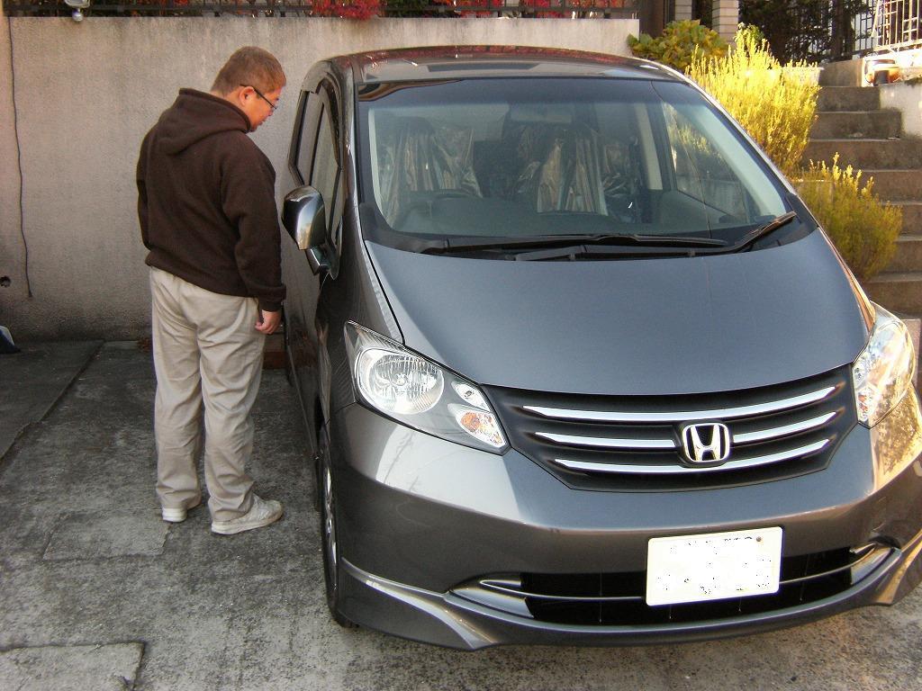 松戸市のNさんに新型フリードを納車致しました。ありがとうございました!