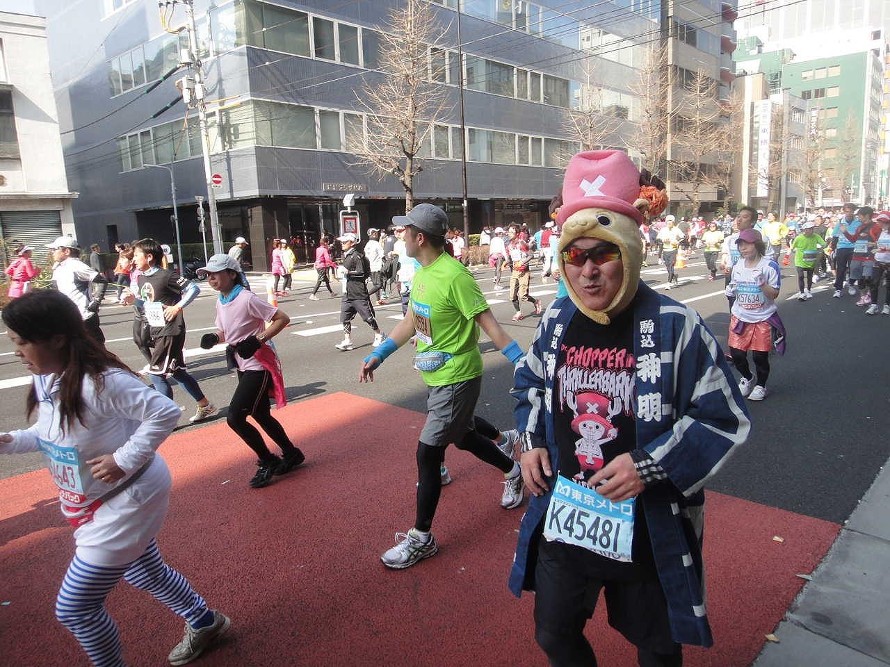 東京マラソンにお客様のNさんが参加されました。見事完走されましたよ。お疲れ様でした。