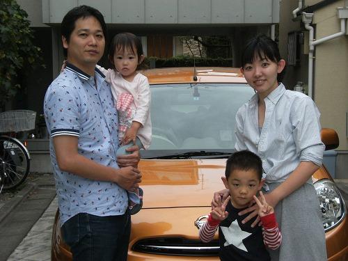 大田区のFさん一家に 新型マーチを<br /> 納車しました<br /> 元気なお子様たちも大喜び<br /> マーチにのって楽しい思い出をたくさん<br /> 作ってください