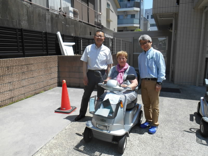 Our Client from NewZealand  ニュージーランドからのお客様