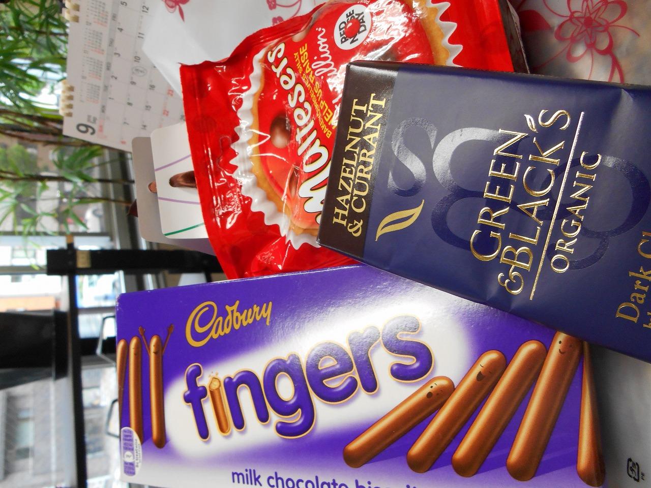美味しいチョコレートやクッキーをいただきました<br /> フイアットさん どうもありがとうございました!