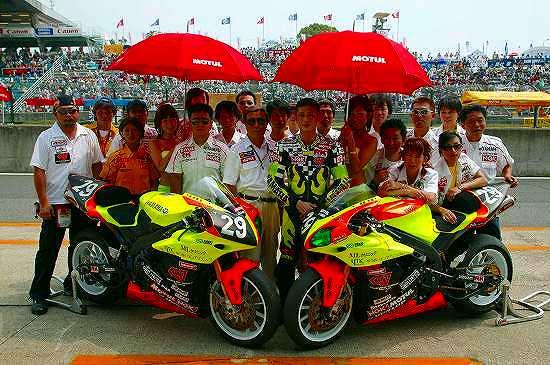 2004年 鈴鹿8耐レース