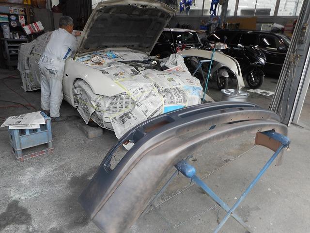日産 板金塗装修理