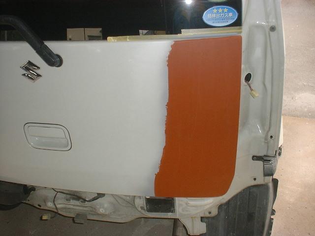 ワゴンRの板金塗装