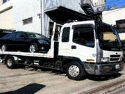 引き取り用積載車