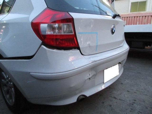 BMW 板金塗装修理事例