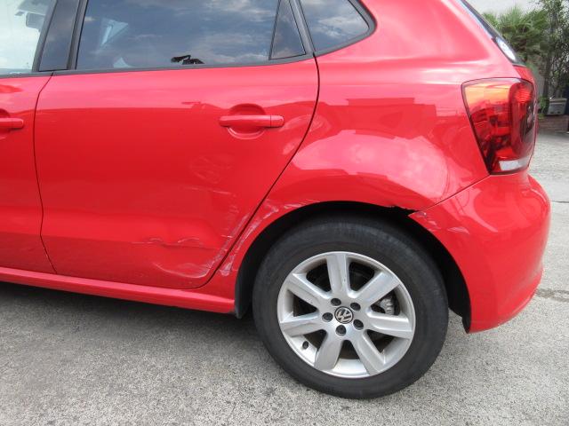 VWポロ 板金塗装修理事例