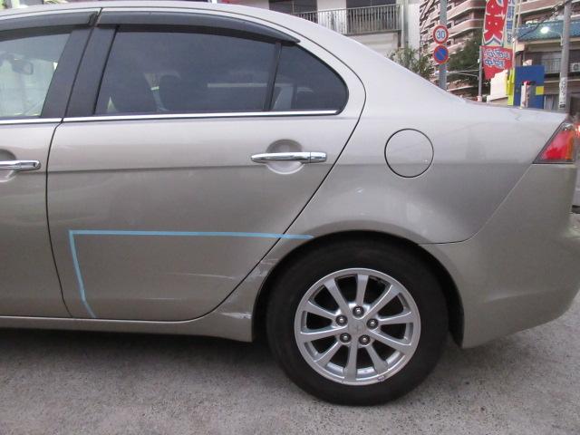 三菱 ギャラン 板金塗装修理事例