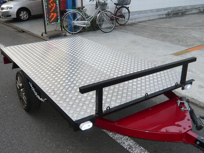 ボートトレーラー改造! フルトレーラーに!!