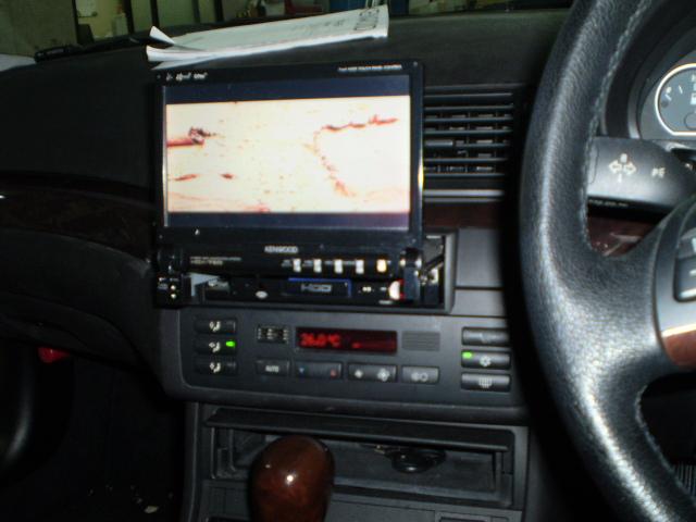 E46 330CiにインダッシュナビとDVDオーディオを取付しました。... BMW E46 ナ