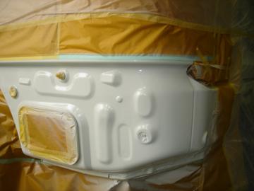 板金塗装作業7