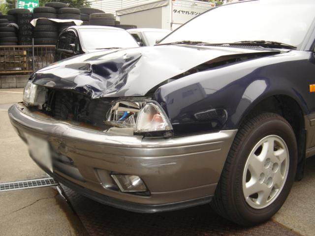 アベニール事故修理