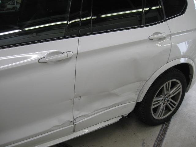 車のドア、ヘコミ板金・修理・塗装