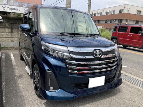 トヨタ、ルーミーにパナソニック、CN-RA07WDを販売取付しました。